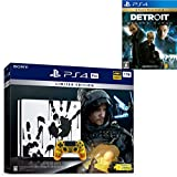 PlayStation 4 Pro DEATH STRANDING LIMITED EDITION + Detroit: Become Human セット【Amazon.co.jp特典】オリジナルカスタムテーマB (配信)
