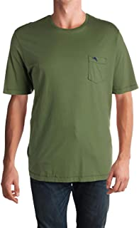 Mens Bali Sky Cotton Monogram T-Shirt Green 3XL