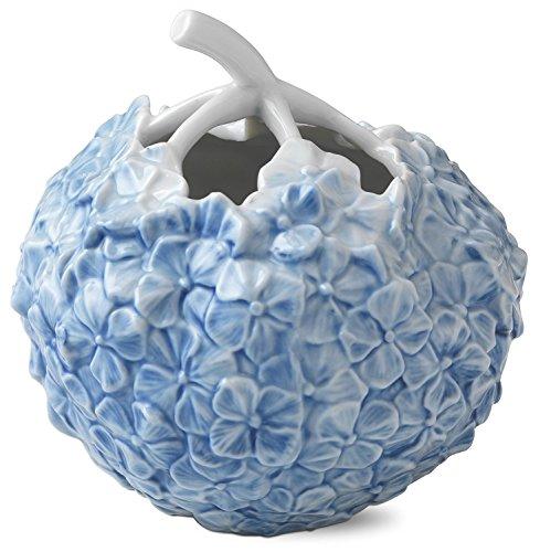 "Royal Copenhagen Hydrangea Vase, 4"", Blue"