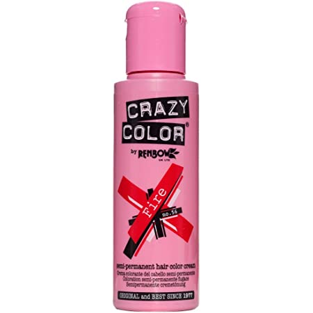 Renbow Crazy Color - Tinte para el cabello semipermanente (2 unidades, 100 ml)
