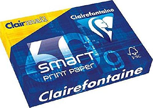 Clairefontaine Kopierpapier \'smart paper\'/192900C A4 weiß 60g Inhalt 500 Blatt