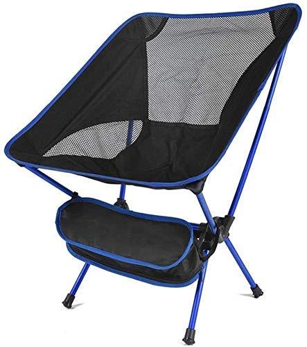 BATOWE Salón al aire libre Sillas Sillas tumbonas reclinables Pesca Silla plegable silla que acampa 600D asiento de la silla portable de la pesca de tela Oxford aluminio for picnic al aire libre Barba