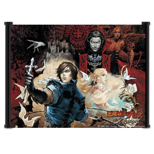 Yutirerly Castlevania: The Dracula X Chronicles Game Fabric Wall Scroll Poster (21'x16') Inches