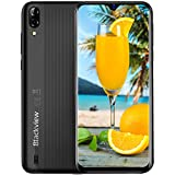 Mobile Phone, Blackview A60 SIMFree Smartphone Unlocked, 6.1Inch IPS FullScreen, 16GB Dual SIM Android 8.1 Unlocked Mobile Phone, 4080mAh Battery, 5MP+13MP Dual Camera, UK Version  Black