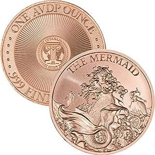 Jig Pro Shop Intaglio Mint Cryptozoology Series 1 oz .999 Pure Copper BU Round/Challenge Coins