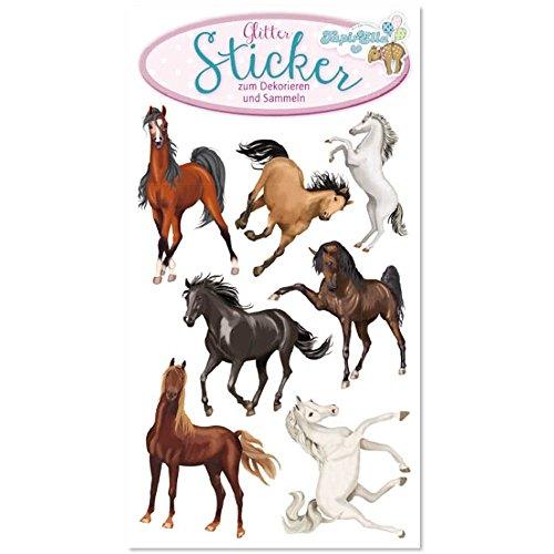 Lutz Mauder 72286 TapirElla Glitter Sticker Pferde