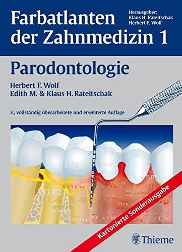 Band 1: Parodontologie: Farbatlanten der Zahnmedizin