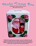 Photo Tissue Box: Plastic Canvas Pattern (English Edition)