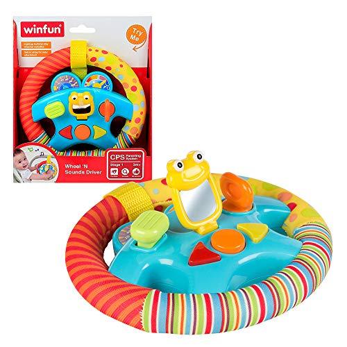 winfun - Volante de sonidos para bebes (44231) , color/modelo surtido