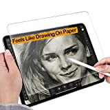 Like Paper Screen Protector for iPad pro 11 inch/iPad Air 4 10.9 inch(2021&2020&2018 Model) Drawing Writing Feel Like Paper,Anti Glare Scratch Resistant Matte Film Compatible with Apple Pencil