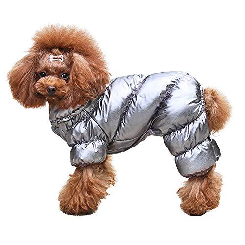 MUXIAND huisdier kleding Winter hond zilveren jumpsuit Kerstmis Leuke Mode Zachte Comfortabele Populaire Kleine Medium Grips Rendier Bijpassende, XXL
