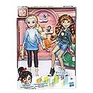 Disney Prinzessinnen Comfy Squad Elsa und Anna, Puppen zum Film Chaos im Netz mit Freizeit-Outfit und Zubehör