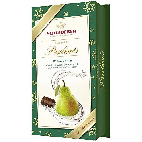 Schladerer Pralinés Williams-Birne Weihnachten