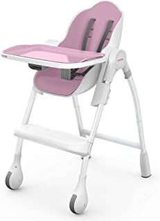 Oribel Cocoon High Chair - Cocoon Delicious - Rose Meringue, Large