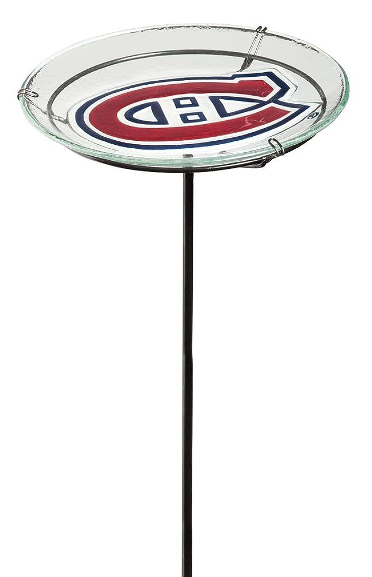 NHL Staked Bird Bath NHL Team: Montreal Canadiens