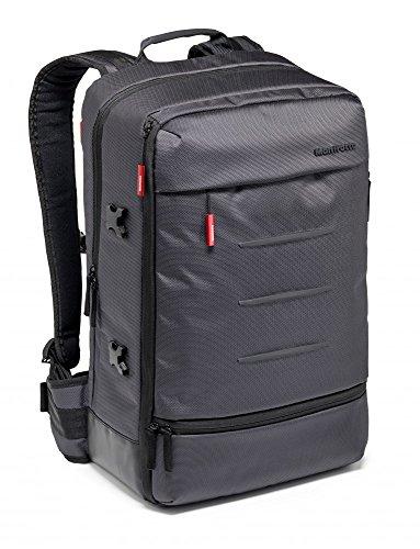 Manfrotto Manhattan Rucksack Mover-50, Mehrzweckrucksack, für den Transport von Kamera und Zubehör, aus wasserabweisendem Material, Fotorucksack mit PC- und Tablet-Fach, mit Stativ-Halterung