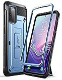 SupHülle Outdoor Hülle für Samsung Galaxy S20 Handyhülle Bumper Hülle Rugged Schutzhülle Cover [Unicorn Beetle Pro] 6.2 Zoll OHNE Bildschirmschutz mit Gürtelclip & Ständer 2020 Ausgabe (Blau)