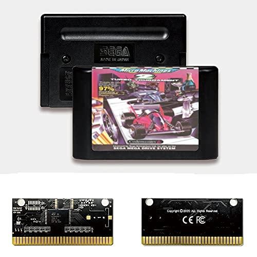 Yuva Micro Machines 2 Turbo Tournam EUR Label Flashkit MD Tarjeta PCB...