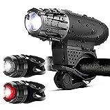 AASSXX Luz de bicicletasLuz de Bicicletas Bicicleta de montaña Faro de Carga USB Impermeable Super Brillante Zoom Faro Luz Trasera Luz de Bicicletas Accesorios
