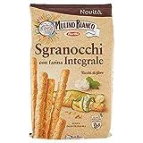 Mulino Bianco Grissini Sgranocchi con Farina Integrale, Perfetti come Snack, 200 g