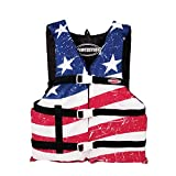 SPORTSSTUFF Youth Stars and Stripes Life Jacket, Red, White,...
