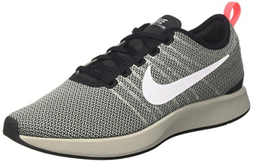 Nike Men's Dualtone Racer Running Shoes, Grey (Black/Pale Grey/Solar Red/White), 11 UK