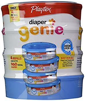 Playtex Diaper Genie Disposal System Refills 240 Count  Pack of 4