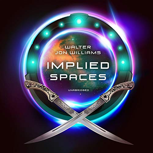 Implied Spaces audiobook cover art