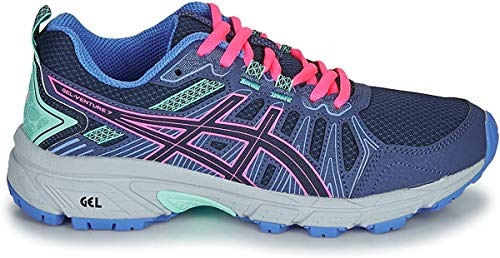ASICS Gel-Venture 7 GS Kinderschuh Peacoat Hot Pink 38
