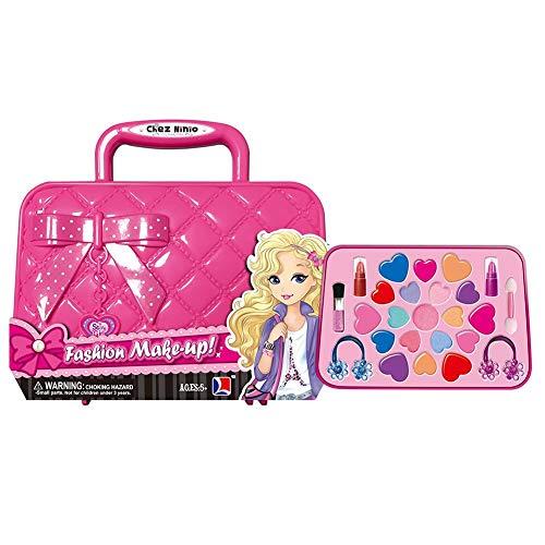 Make-up Spielzeug Set, Kinderschminke Set für Mädchen,Schminkpalette Kits,Kometik Spielzeug Set...