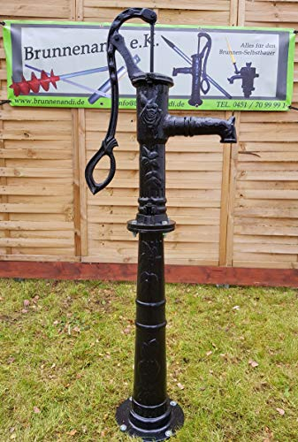 Nostalgie Schwengelpumpe mit Pumpenständer - 5
