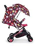 Cosatto Woosh 2 - Cochecito con sombrilla y protector de lluvia desde el nacimiento hasta 25 kg