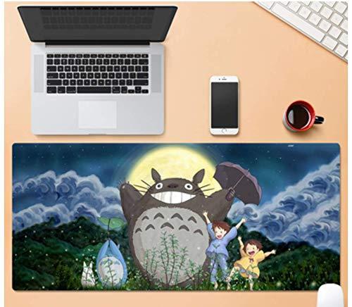 Alfombrilla De Ratón Para Juegos De Gran Tamaño, Animales Y Personajes De Dibujos Animados Felices, Goma Duradera, Alfombrilla De Ratón Para Juegos De Oficina Portátil