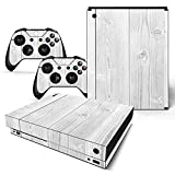 Mcbazel Pattern Series Skin Sticker for Xbox One X Console and Controller Wood