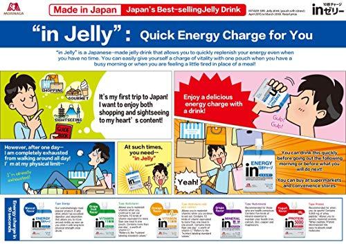 inゼリーエネルギーマスカット味(180g×36個)すばやいエネルギー補給10秒チャージビタミンC配合エネルギー180kcal