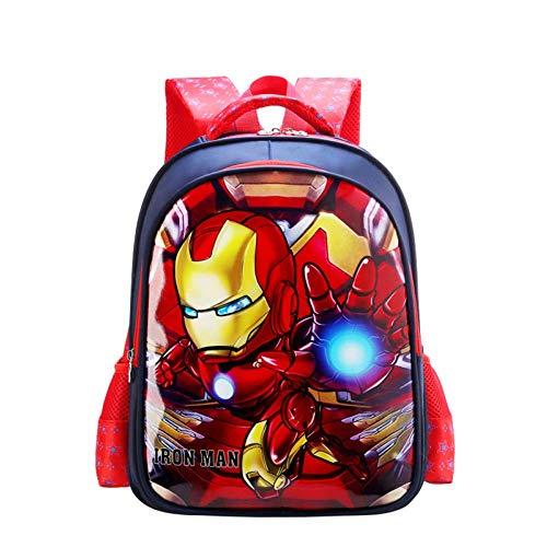 Bag Set Morral De Los Niños De La Caricatura De Mochila para Niños para Niños con La Temporada De Superhéroe Animado Escuela Regalo F-L