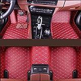 YOWAX para Nissan Qashqai J10 J32 Patrol Y61 Murano 2006 Alfombrillas De Cuero Artificial para El Piso del AutomóVil Almohadillas Impermeables para Los Pies para Alfombra del AutomóVil