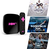 NOW TV - Smart Box con 1 mese di Intrattenimento, Sky Cinema, Bambini + Sky Sports Day Pass