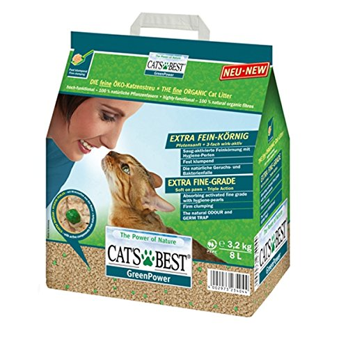 Cat's Best Green Power 29776 Katzenstreu 2,9 kg
