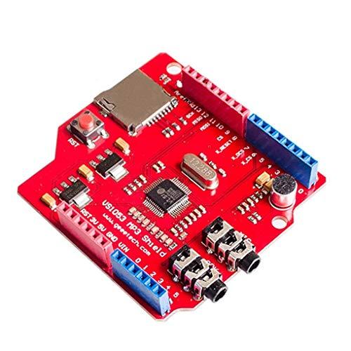 Ben-gi VS1053 MP3-Modul Ersatz für Arduino R3 Ausbruch-Brett SD-Karten-Slot VS1053B Echtzeit-Aufnahme