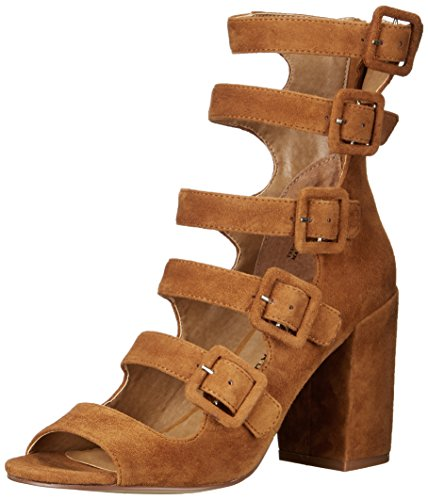 Chinese Laundry Women's Twilight Dress Sandal, Camel Suede, 11 M US