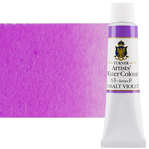 Turner Concentrated Professional Artists' Watercolor Paint 15ml Tube - Cobalt Violet
