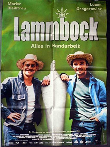 Lammbock - Moritz Bleibtreu - Filmposter A1 84x60cm gefaltet