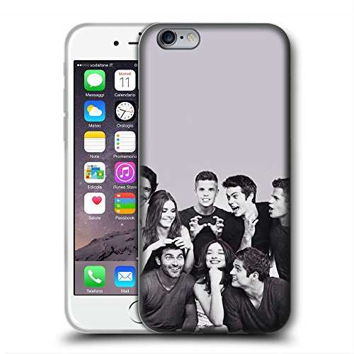XMKLOQUDE iPhone 6/6S Case Tee WOL Custom Protection Durable Shell Cases Transparent Cover