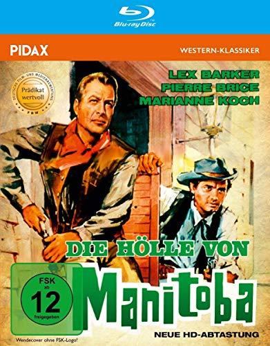 Die Hölle von Manitoba - Neue HD-Abtastung / Mit dem PRÄDIKAT WERTVOLL ausgezeichneter Western mit Lex Barker und Pierre Brice (Pidax Western-Klassiker) [Blu-ray]