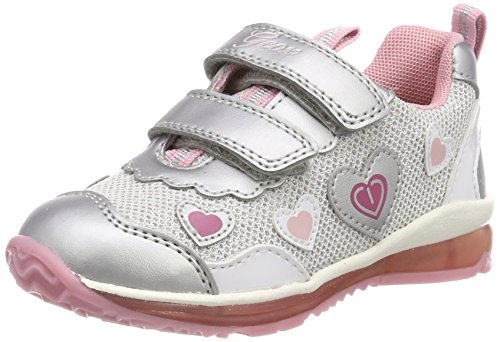 Geox B Todo A, Zapatillas para Bebés, Plateado, 20 EU