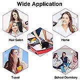 Föhn Sumgott Ionen Fön 1800W Haartrockner, Faltbarer Haarfön Tragbarer Hair Dryer Reiseföhn mit Ionenpflege Technologie,Drei Temperatur und Windgeschwindigkeiten - 6