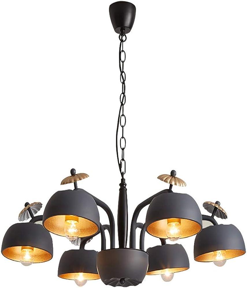 Pendant light,lampadario vintage, a sospensione,in ferro Dd-053