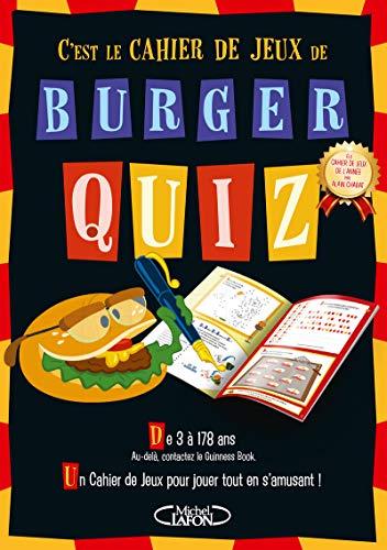 Cahier de jeux Burger Quiz