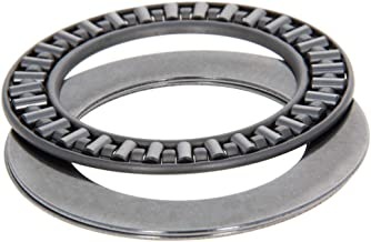 Othmro AXK4060 2AS Needle Roller Thrust Bearings with 2 Washers, 40mm Inner Diameter, 60mm OD, 5mm of Thickness, GCr15 Hardness 1pcs